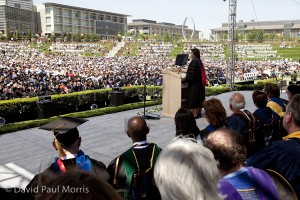 First Lady Michelle Obama Addresses UC Merced Commencement Ceremony